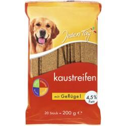 JT suņiem košļājamās plāksnītes ar Mājputnu gaļu /200G