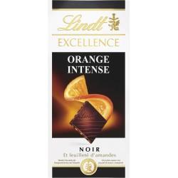 Lindt Excellence Šok. ar Apelsīnu un Mandelēm 100g