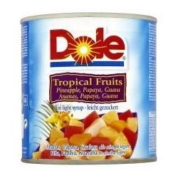 DOLE Tropu augļu kokteilis sulā 432G