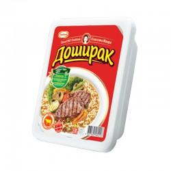 """Ātri pagatavojamas nūdeles """"Доширак"""" ar liellopu gaļas garšu"""