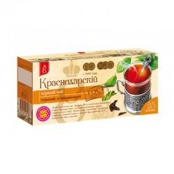 Melnā tēja Krasnodarskij paciņās (25 gb 2 gr)